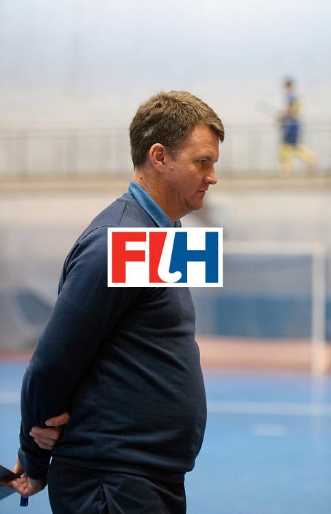 BERLIN - Indoor Hockey World Cup<br /> South Africa - Belgium<br /> foto: LE ROUX Pierre<br /> WORLDSPORTPICS COPYRIGHT FRANK UIJLENBROEK