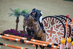 Delaveau Patrice (FRA) - Carinjo HDC<br /> CHI Al Shaqab - Doha 2013<br /> © Dirk Caremans