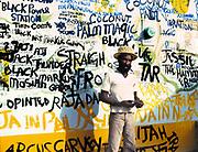 Lee Perry -  Black Ark Studio - wall art - Kingston - Jamaica 1979