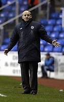 Fotball<br /> FA-cup 2005<br /> Reading v Leicester<br /> 29. januar 2005<br /> Foto: Digitalsport<br /> NORWAY ONLY<br /> Reading manager Steve Coppell wonders where it all went wrong