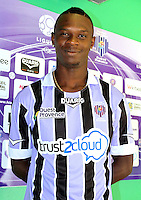 Guy Roland NINGBO NASSA - 17.09.2013 - Photo Officielle Istres - Ligue 2<br /> Photo : Icon Sport