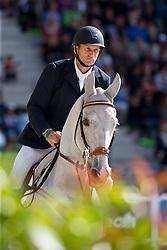 Stuart Tinney, (AUS), Pluto Mio - Jumping Eventing - Alltech FEI World Equestrian Games™ 2014 - Normandy, France.<br /> © Hippo Foto Team - Leanjo De Koster<br /> 31-08-14