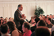 """Bob Burg, author of """"The Go-Giver""""  discussing how to increase business and generate referrals during a seminar for business owners in New Jersey."""