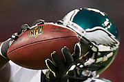 ST. LOUIS, MO - SEPTEMBER 11:   Player of the Philadelphia Eagles catches a pass before a game against the St. Louis Rams at the Edward Jones Dome on September 11, 2011 in St. Louis, Missouri.  The Eagles defeated the Rams 31 to 13.  (Photo by Wesley Hitt/Getty Images) *** Local Caption ***
