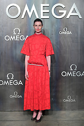 Erin O'Connor attending the Lost in Space event to celebrate the 60th anniversary of the OMEGA Speedmaster held in the Turbine Hall, Tate Modern, 25 Sumner Street, Bankside, London. PRESS ASSOCIATION Photo. Picture date: Wednesday 26 April  2017. Photo credit should read: Ian West/PA Wire