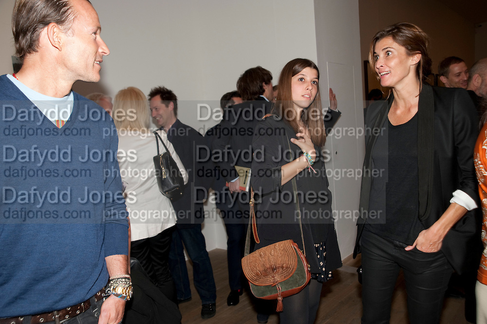 Prince Kyril of Bulgaria, ; with their daughter in centre; Rosario Saxe Coburg, A Living man declared Dead and Other Chapters. Taryn Simon. Tate Modern, London. 24 May 2011. <br /> <br />  , -DO NOT ARCHIVE-© Copyright Photograph by Dafydd Jones. 248 Clapham Rd. London SW9 0PZ. Tel 0207 820 0771. www.dafjones.com.