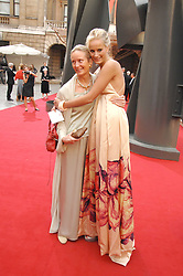 KALITA AL-SWAIDI and her mother at the Royal Academy of Art Summer Exhibition Preview Party on 4th June 2008.<br />