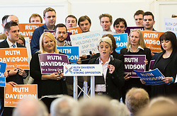 Pictured: Annie Wells <br /> <br /> Ruth Davidson began her final push to lead the Conservative Party to opposition in the Scottish Parliamentary Election with an eve of poll rally at the Royal Botanic Garden, Edinburgh<br /> <br /> <br /> <br /> (c) Richard Dyson| Edinburgh Elite media