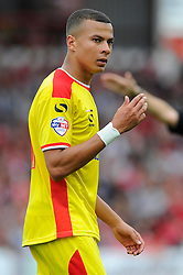 Milton Keynes Dons' Dele Alli  - Photo mandatory by-line: Joe Meredith/JMP - Mobile: 07966 386802 - 27/09/2014 - SPORT - Football - Bristol - Ashton Gate - Bristol City v MK Dons - Sky Bet League One