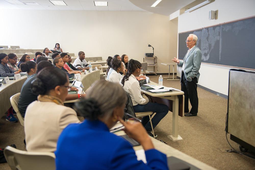 Junior Executive Business Program College of Business Dean Hugh Sherman