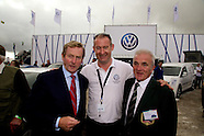 Taoiseach Enda Kenny at  Volkswagen Ireland Stand