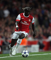 15.09.2010, Emirates Stadium, London, ENG, UEFA CL, Arsenal fc vs Sporting Braga, im Bild Arsenal's Bacary Sagna during Arsenal fc vs Sporting Braga for the UCL  Group  H at the Emirates Stadium in London. EXPA Pictures © 2010, PhotoCredit: EXPA/ IPS/ Marcello Pozzetti +++++ ATTENTION - OUT OF ENGLAND/UK +++++ / SPORTIDA PHOTO AGENCY