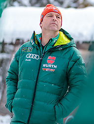 02.01.2018, Seefeld, AUT, FIS Weltcup Ski Sprung, Vierschanzentournee, Innsbruck, im Bild Cheftrainer Werner Schuster (GER) während eines Medientermins des DSV // Austrian Headcoach Werner Schuster of Germany during a Media Event of the German Skijumping Team before the 3rd Stage Insbruck of the Four Hills Tournament of FIS Ski Jumping World Cup at Seefeld, Austria on 2018/01/02. EXPA Pictures © 2018, PhotoCredit: EXPA/ JFK
