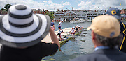 Henley on Thames. United Kingdom.  Grand  Challenge Cup. Nautilus RC. leaving the dock.   Sunday,  03/07/2016,      2016 Henley Royal Regatta, Henley Reach.   [Mandatory Credit Peter Spurrier/Intersport Images]