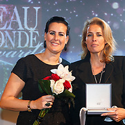 NLD/Amsterdam/20121112 - Beau Monde Awards 2012, Ellen Litz en Frederique van der Wal
