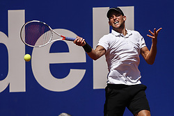 April 27, 2018 - Barcelona, Spain - Dominic THIEM from Austria during the Barcelona Open Banc Sabadell 66º Trofeo Conde de Godo quarter-finals at Reial Club Tenis Barcelona on 27 of April of 2018 in Barcelona. (Credit Image: © Xavier Bonilla/NurPhoto via ZUMA Press)
