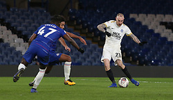Marcus Maddison of Peterborough United scores his sides third goal of the game - Mandatory by-line: Joe Dent/JMP - 09/01/2019 - FOOTBALL - Stamford Bridge - London, England - Chelsea U21 v Peterborough United - Checkatrade Trophy