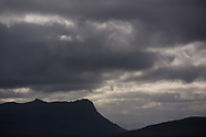 Ben Loyal from Borgie Glen, Sutherland,  Forestry Commission, Scotland
