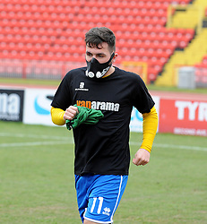 Bristol Rovers' Jake Gosling - Photo mandatory by-line: Neil Brookman/JMP - Mobile: 07966 386802 - 28/02/2015 - SPORT - Football - Gateshead - Gateshead International Stadium - Gateshead v Bristol Rovers - Vanarama Football Conference