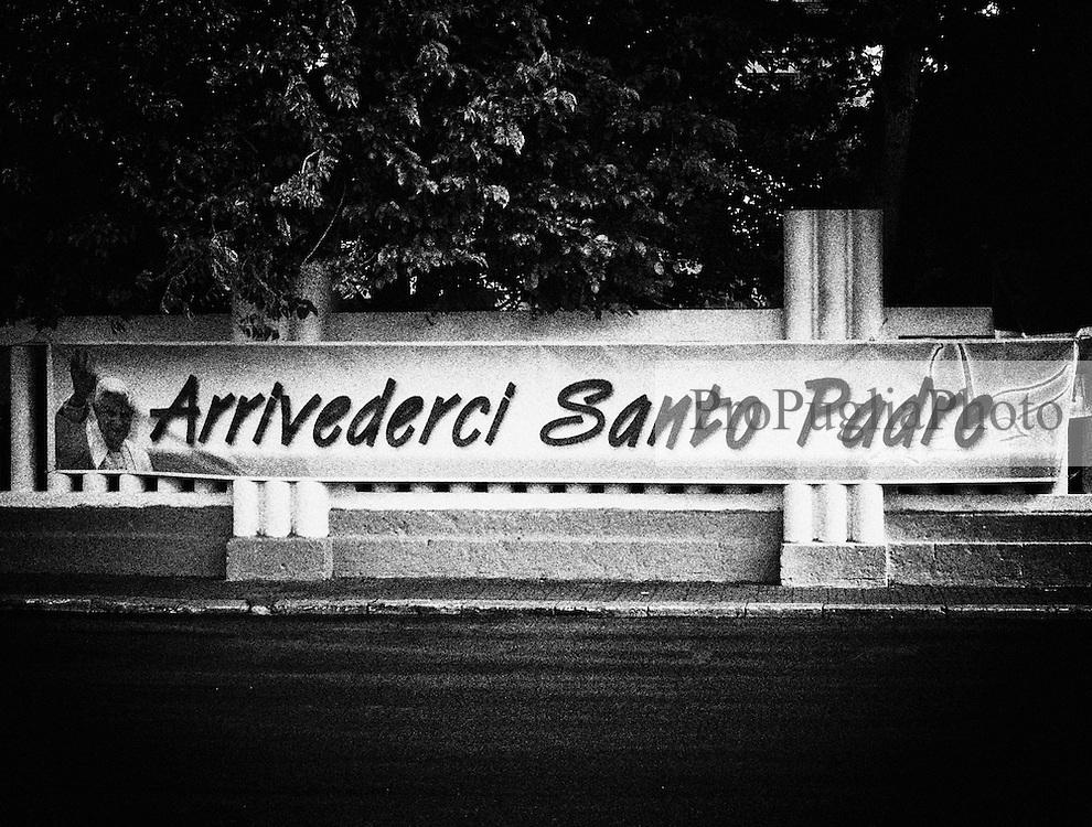Brindisi.Visita di Papa Benedetto XVI.