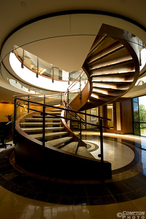 Spiral Stair case in a corporate office in NJ.