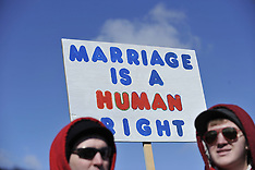 MAR 26 2013 Same-Sex Marriage Rally in Washington D.C.