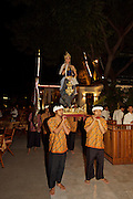 Folk dance show at Sala Rim Naam, Thai restaurant of the Oriental Hotel.