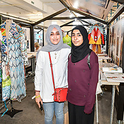 Shaheena Umerji is a BA (Hons) Fashion Designer of University of Hertfordshire exhibition at the Graduate Fashion Week 2019 - Day One Exhibitions on 2 June 2019, London, UK.