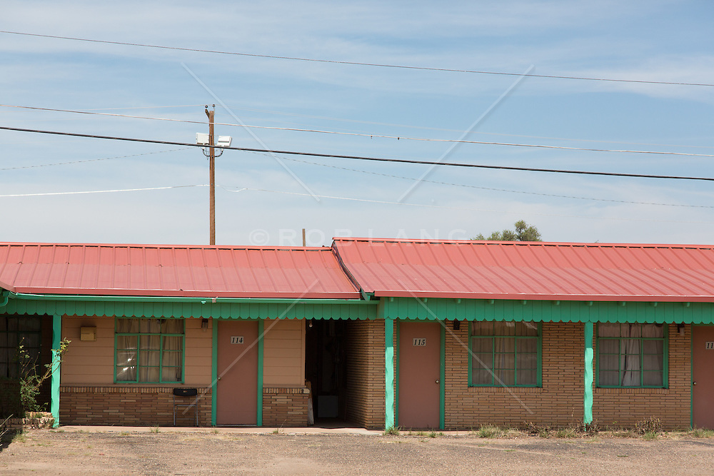 rural motel on Route 66 in Tucumcari, New Mexico