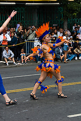 California: San Francisco Carnaval festival parade in the Mission District. Photo copyright Lee Foster. Photo # 30-casanf81370