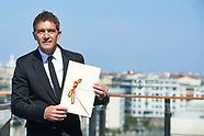 092317 Antonio Banderas Receives National Cinematography Award - 65th San Sebastian Film Festival