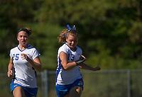 GHS Field Hockey versus Winnisquam.  © 2013 Karen Bobotas Photographer