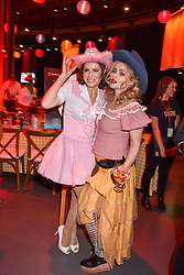 Left to right, Natasha Kaplinsky and Helena Bonham-Carter at the Save The Children's Night of Country at The Roundhouse, London England. 2 March 2017.