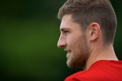CARDIFF, WALES - Tuesday, September 4, 2018: Wales' Ben Davies during a training session at the Vale Resort ahead of the UEFA Nations League Group Stage League B Group 4 match between Wales and Republic of Ireland. (Pic by David Rawcliffe/Propaganda)