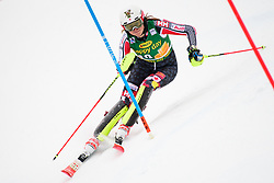 January 7, 2018 - Kranjska Gora, Gorenjska, Slovenia - Laurence St-Germain of Canada competes on course during the Slalom race at the 54th Golden Fox FIS World Cup in Kranjska Gora, Slovenia on January 7, 2018. (Credit Image: © Rok Rakun/Pacific Press via ZUMA Wire)