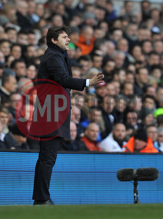 Tottenham Hotspur Manager Mauricio Pochettino - Mandatory by-line: Paul Knight/JMP - Mobile: 07966 386802 - 20/03/2016 -  FOOTBALL - White Hart Lane - London, England -  Tottenham Hotspur v AFC Bournemouth - Barclays Premier League