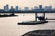 View of Tokyo from Kasai Rinkai Park.