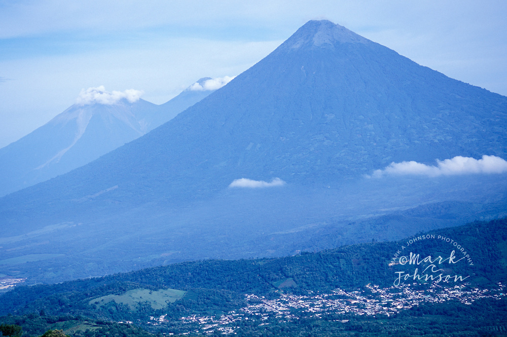 Volcanoes, Guatemala, Central America