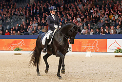 Fry Charlotte, NED, Glamourdale<br /> KWPN Stallionshow - 's Hertogenbosch 2018<br /> © Hippo Foto - Dirk Caremans<br /> 02/02/2018