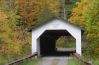 Hutchins Covered Bridge Montgomery Vermont