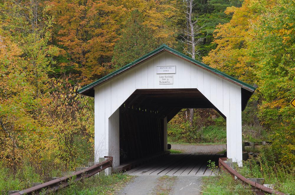 Hutchins Covered Bridge Montgomery Vermont