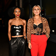 Tonique Campbell and Frankie Maddin attend Bachelor girls wrap party after Channel 5 serial of The Bachelor girls 2019 UK  17 desperate female complete to win Alex Marks. Five Eliminated girls continues enjoy the single life party at Balle Ballerson in fact, in the UK there are 1.1 millions female more than male on 27 March 2019, London, UK.