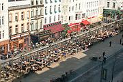 outdoor dining Antwerp, Belgium
