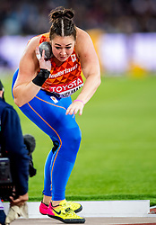 08-08-2017 IAAF World Championships Athletics day 5, London<br /> Melissa Boekelman NED (kogelstoten)