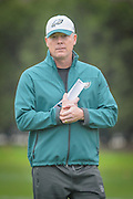 Philadelphia Eagles' former offensive coordinator, Pat Shurmur walks out to his first practice as interim head coach after the firing of Chip Kelly on Wednesday 30 December 2015 at the Nova Care Center in Philadelphia, Pa. . Photograph  by Jim Graham