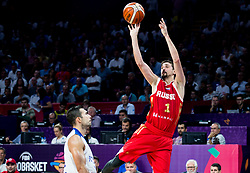 Aleksei Shved of Russia during basketball match between National Teams of Greece and Russia at Day 14 in Round of 16 of the FIBA EuroBasket 2017 at Sinan Erdem Dome in Istanbul, Turkey on September 13, 2017. Photo by Vid Ponikvar / Sportida
