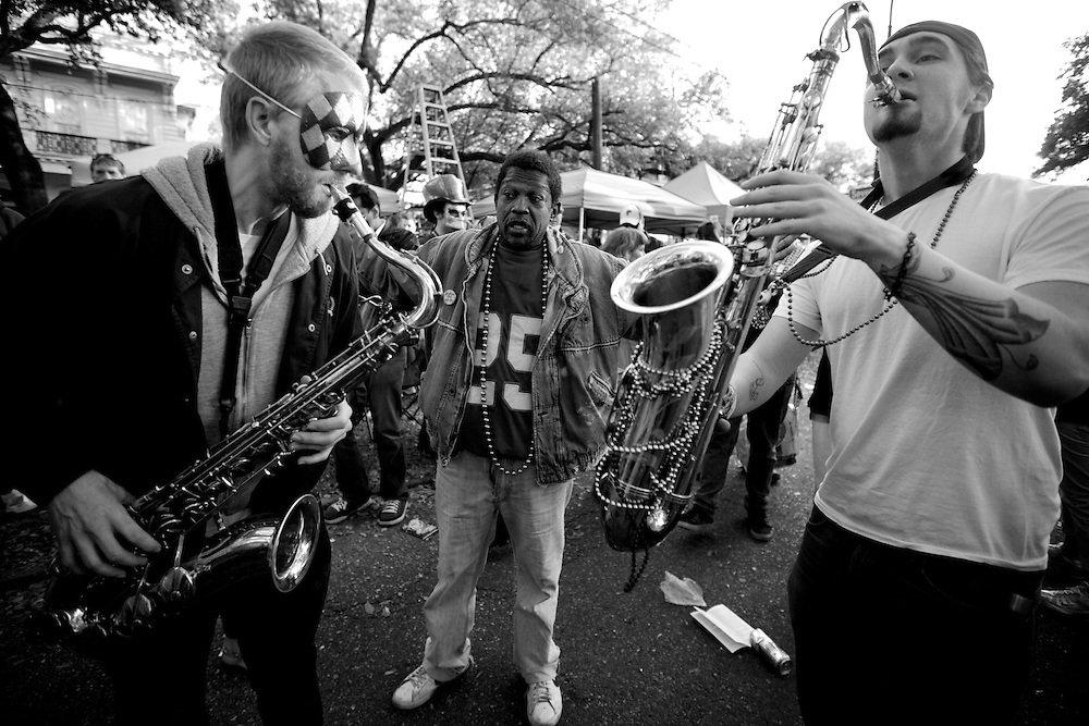 Mardi Gras in New Orleans. Kris Ugarriza - Red Wave Pictures