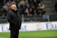FOOTBALL - FRENCH CHAMPIONSHIP 2011/2012 - L1 - STADE RENNAIS v OLYMPIQUE LYONNAIS - 1/04/2012 - PHOTO PASCAL ALLEE / DPPI - FREDERIC ANTONETTI (RENNES COACH)