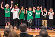 Dedication ceremony at Condit Elementary School, December 15, 2016.
