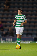 31st October 2018, Kilmac Stadium, Dundee, Scotland; Ladbrokes Premiership football, Dundee v Celtic; Filip Benkovic of Celtic